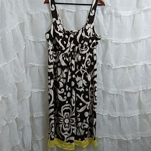 New LIZ LANGE MATERNITY Cotton Maxi Dress T42